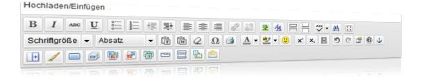 der Editor von Content Management Systemen (CMS)